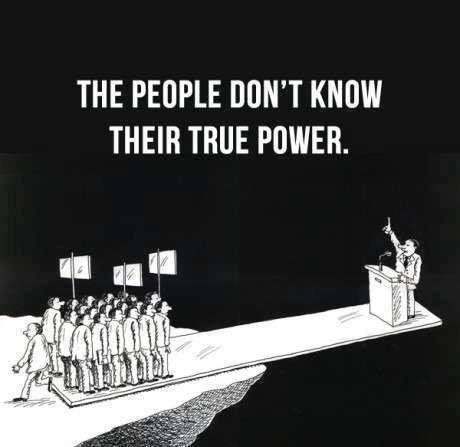 Oamenii nu-si cunosc adevarata putere